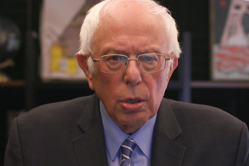 'It's a steep road ahead': Sanders admits it's going to be tough to beat Biden but he won't stop trying