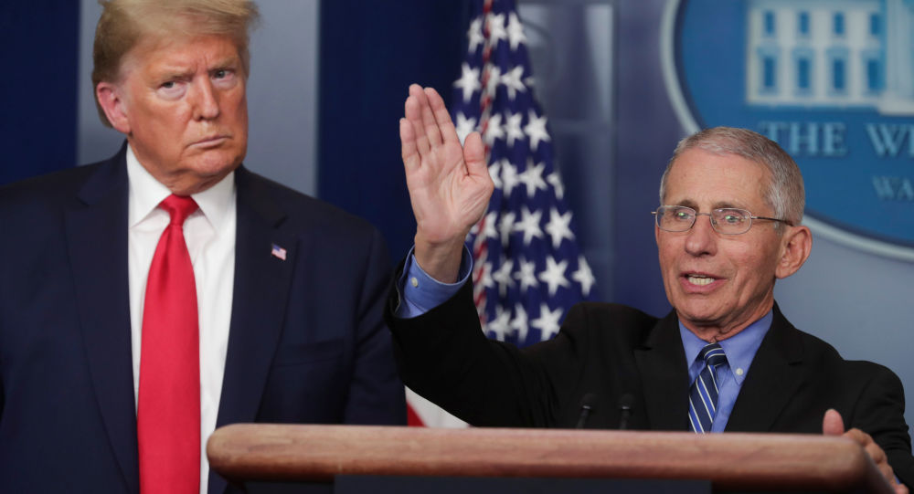 'Really Unfortunate': Top Health Official Fauci Condemns Media Efforts to Create 'Rift' With Trump