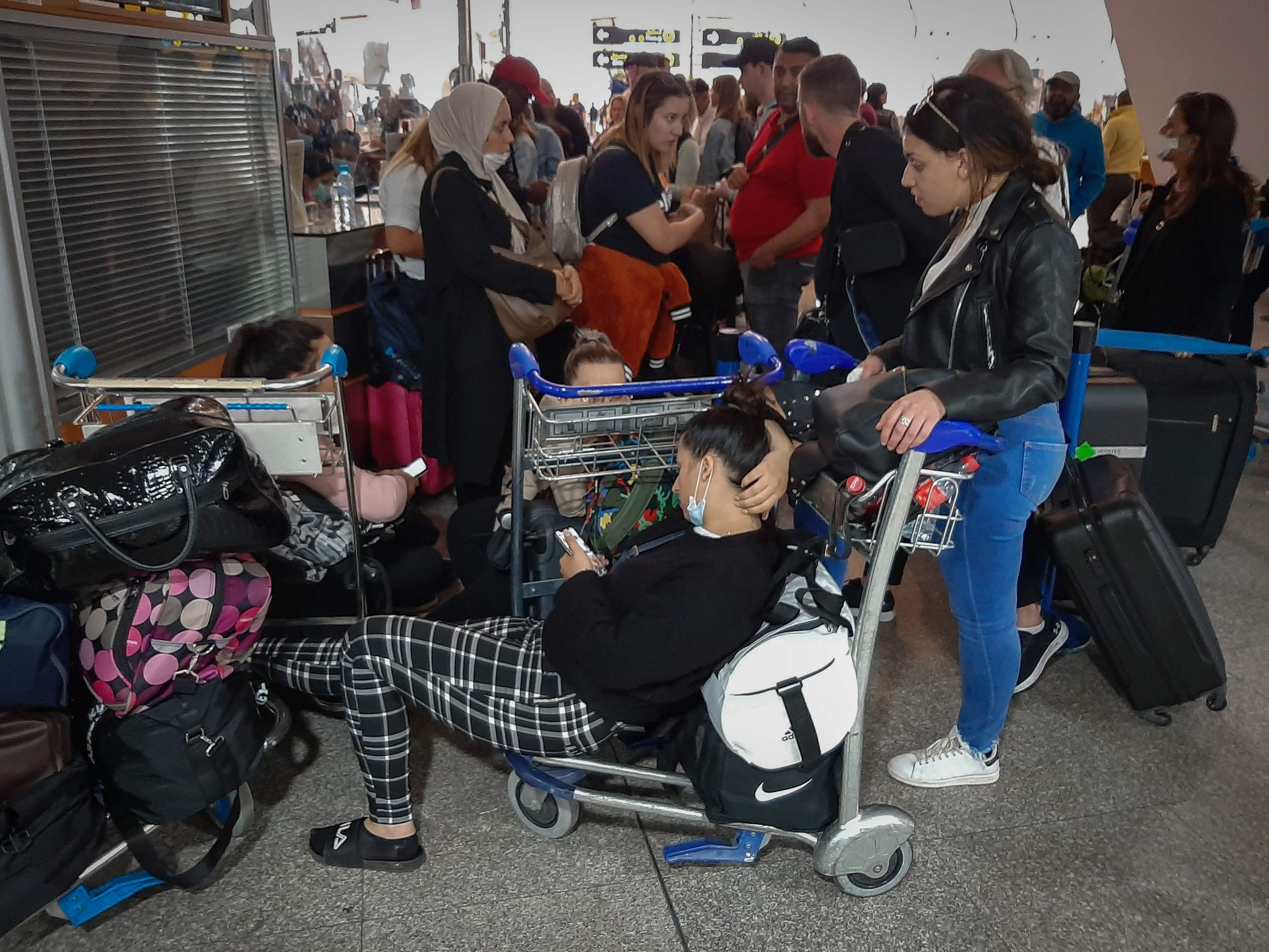 Thousands of Brits have been stranded in airports after border closures