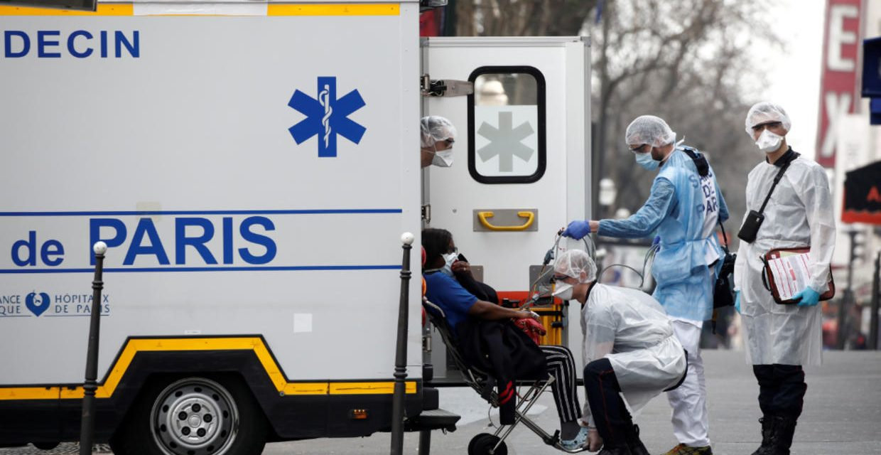 France records 112 coronavirus deaths in a day as death toll reaches 562