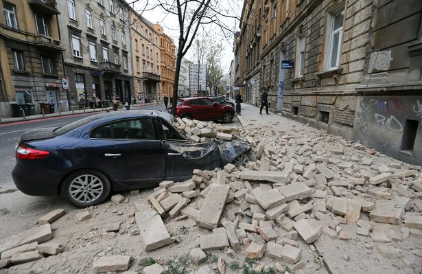 Croatia earthquake: Teen dies after being crushed under building in 5.3 strong quake - World News 2
