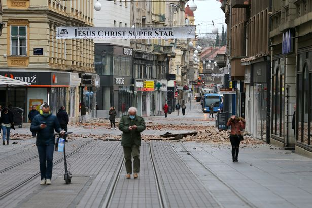 Croatia earthquake: Teen dies after being crushed under building in 5.3 strong quake - World News 4