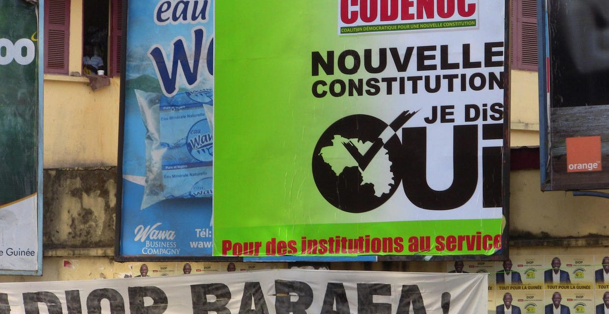 Violence flares in Guinea as voters cast ballots in contentious referendum