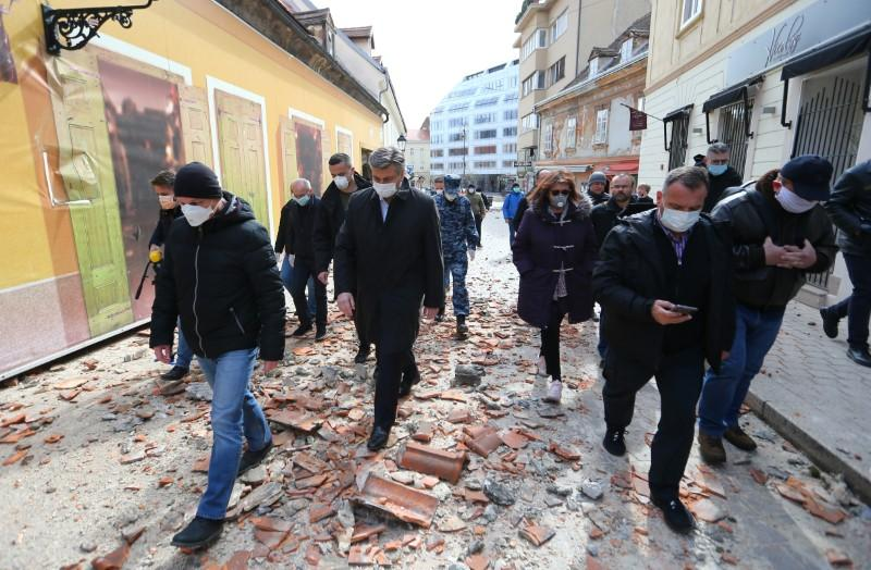 Quake hits Zagreb, PM appeals for social distancing as residents rush onto streets