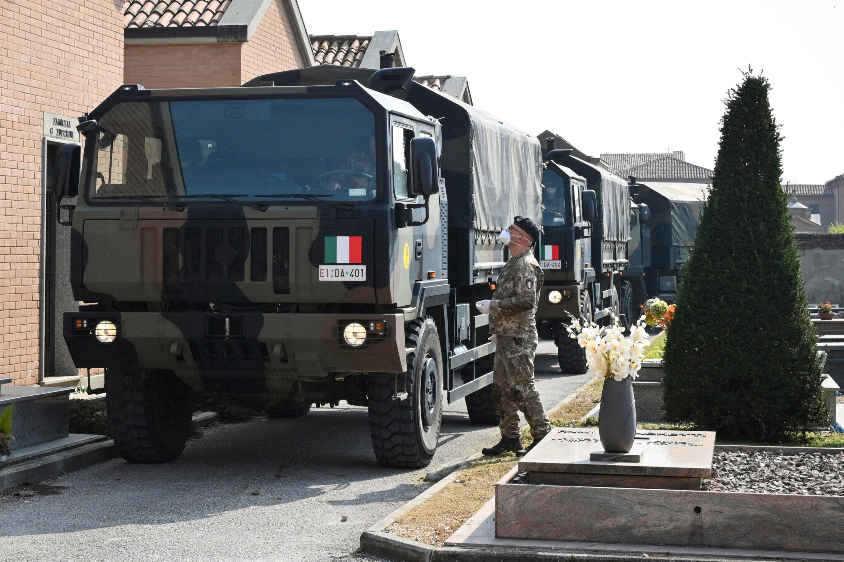 Troops have been called in to help in the coronavirus response across Europe