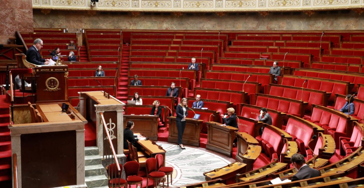 French parliament declares health emergency to combat pandemic