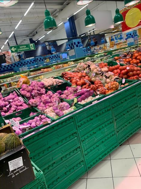 Five days into the lock down the supermarkets are stabilising