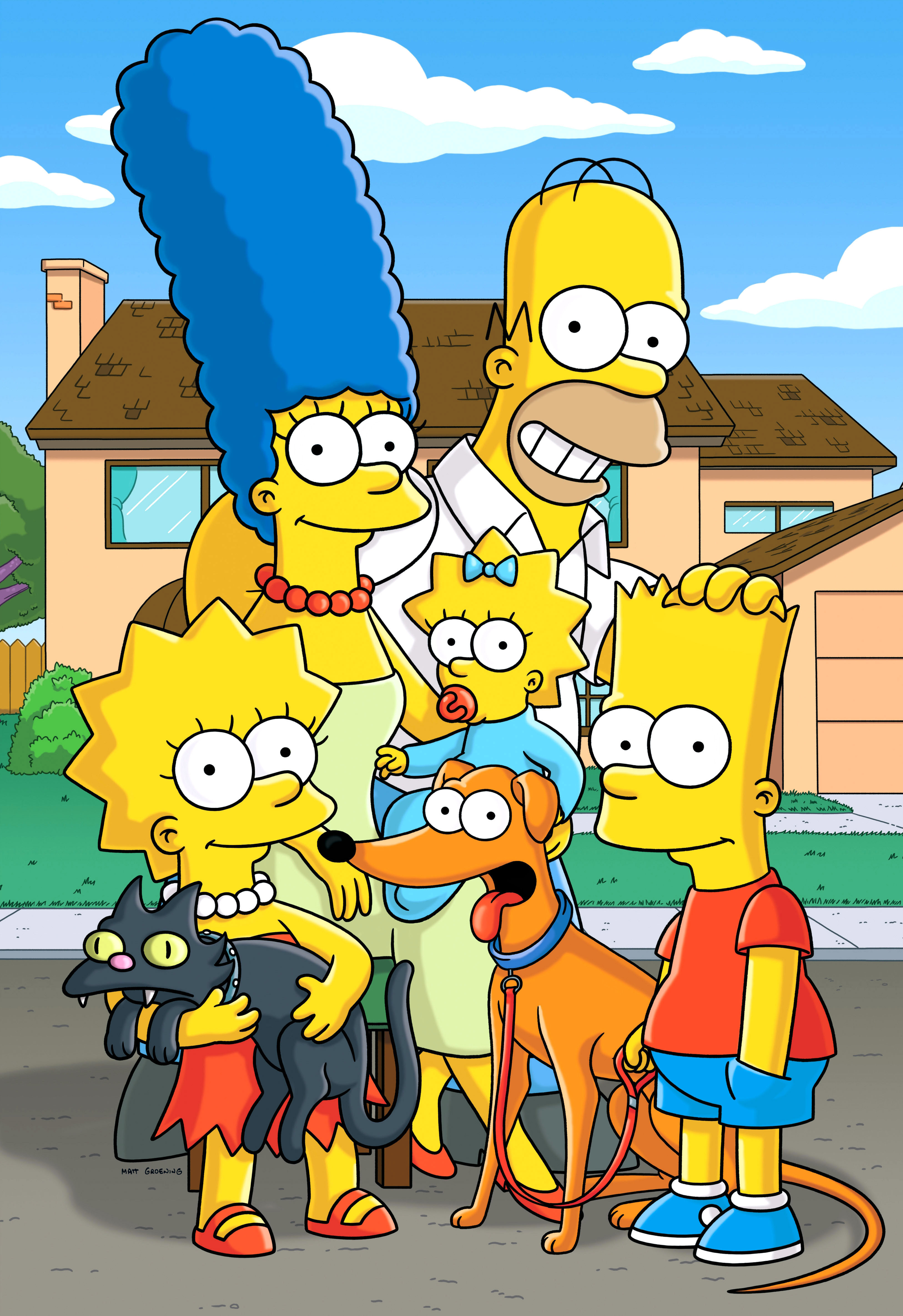America's most famous, and dysfunctional family, the Simpsons