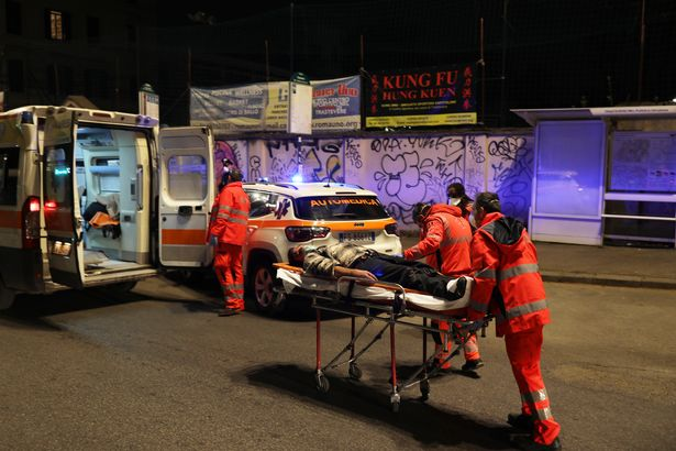 Coronavirus victim lies unconscious in street in Italy as hospitals hit breaking point - World News 2