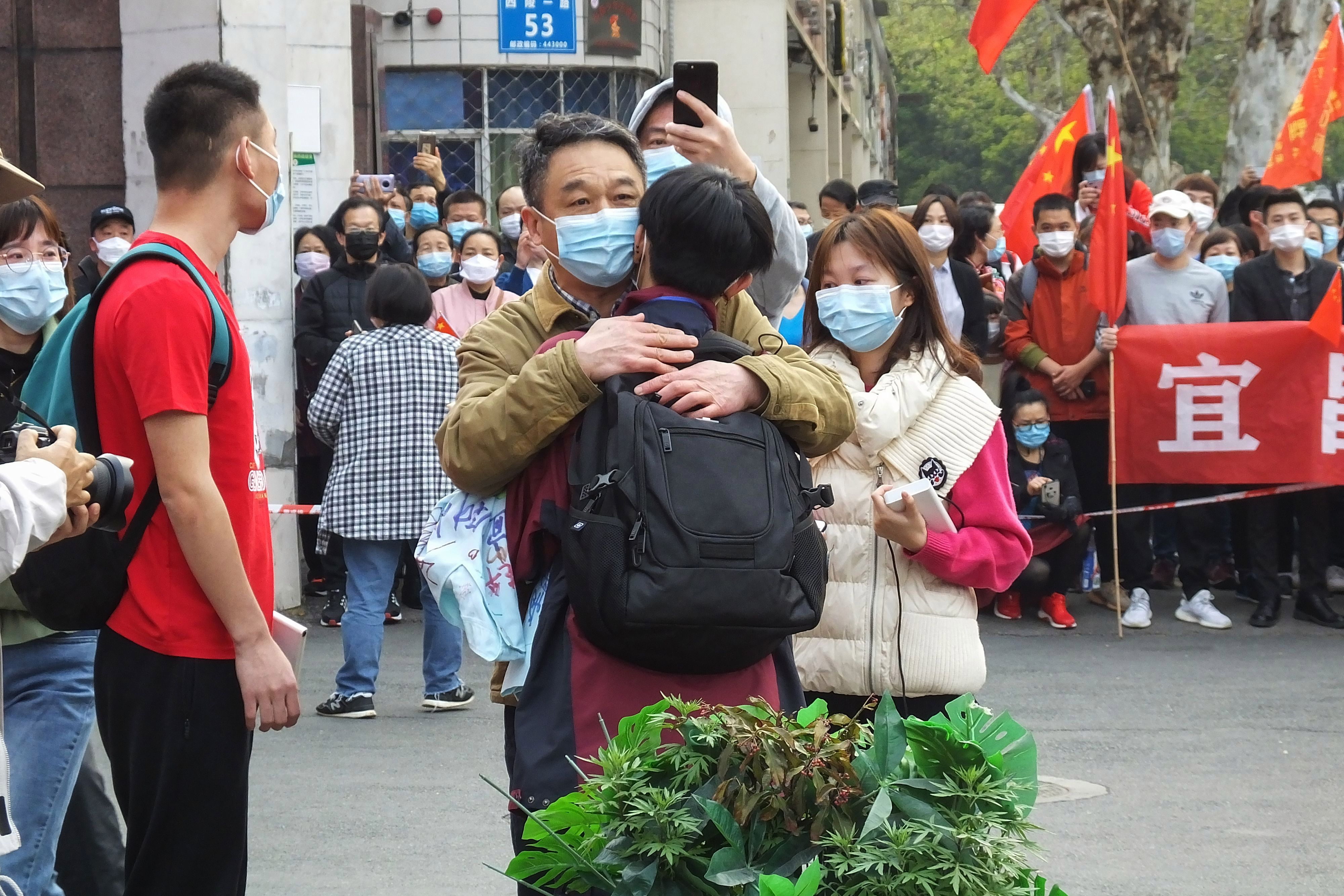 People in Hubei province have been under a strict lockdown for over two months, and healthy citizens will now be allowed to leave their homes