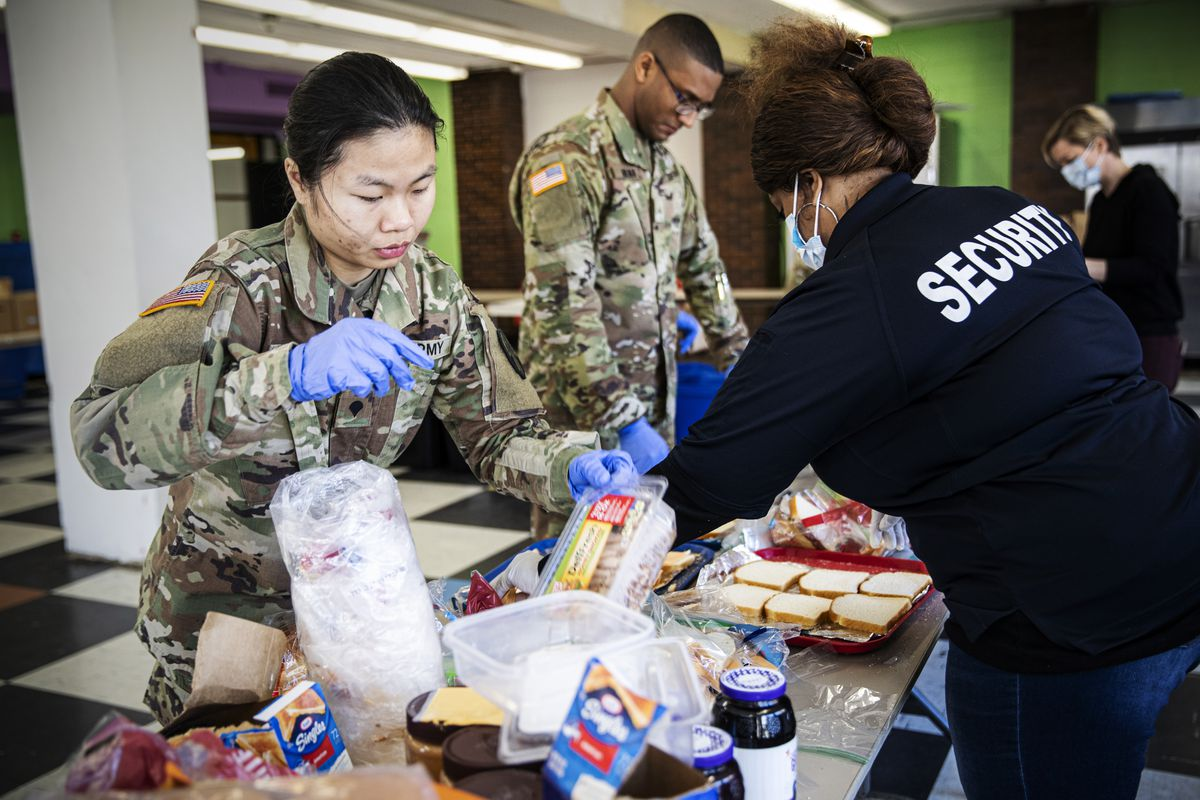 What National Guard troops do when deployed to help with coronavirus 2