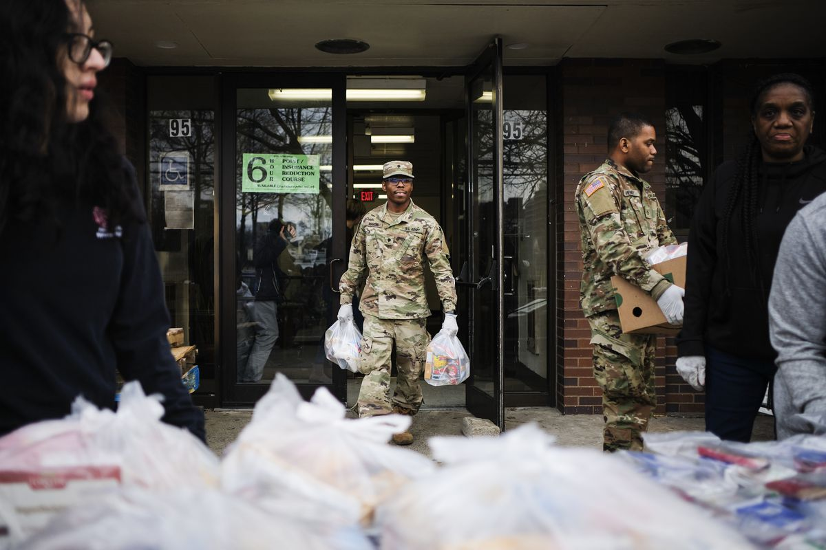 What National Guard troops do when deployed to help with coronavirus 3