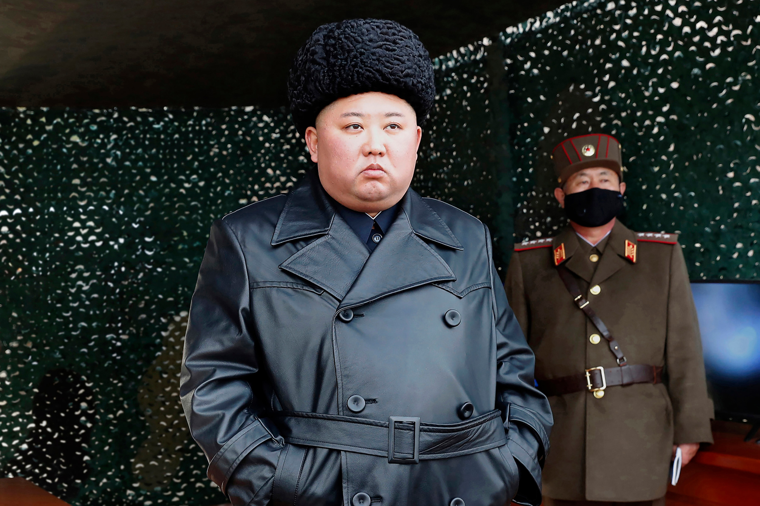 Kim Jong-un is known to personally attend missile tests
