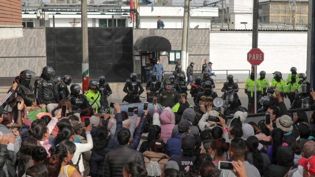 23 inmates dead after protest over virus fears in Colombia