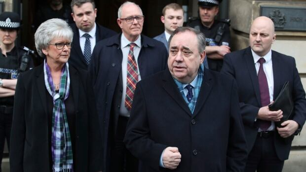 Alex Salmond, Scotland's former first minister, acquitted on sex crime charges