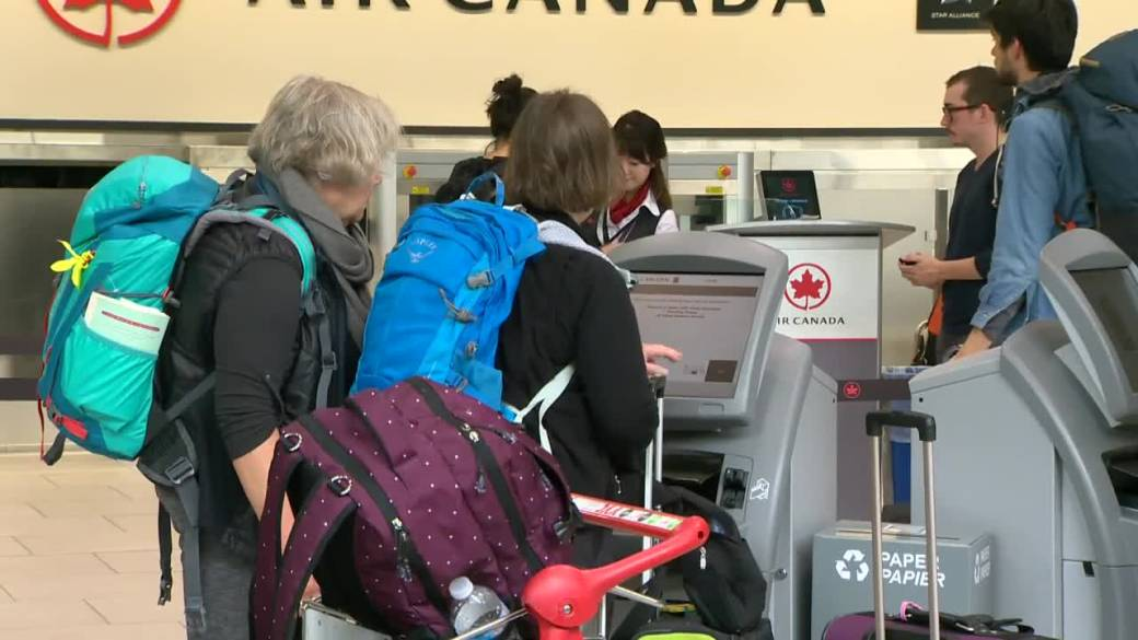As coronavirus travel restrictions ramp up, major airline hubs take a hit – National
