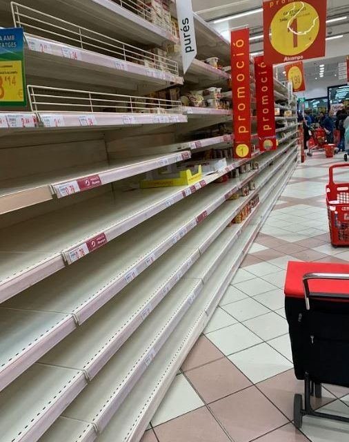 Brit in Barcelona coronavirus lockdown shares supermarket pics proving why we absolutely DON'T need to panic buy food – The Sun