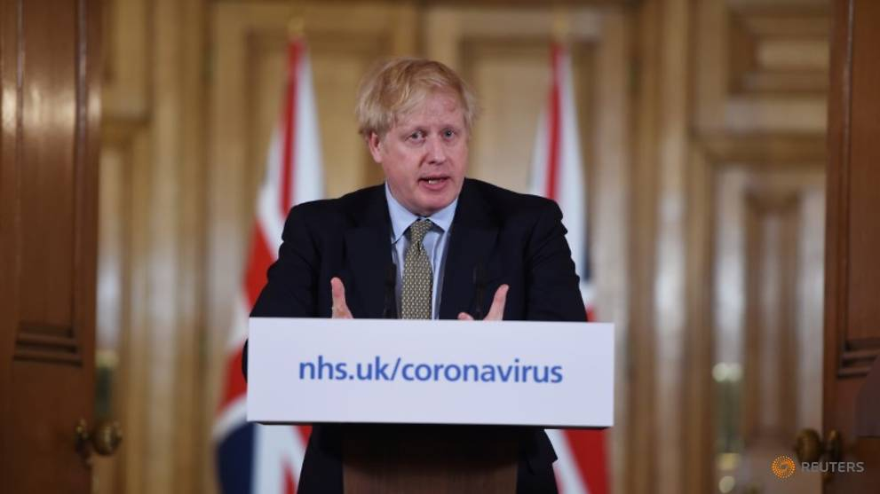 Britain 'two or three weeks' behind Italy on coronavirus: PM Johnson