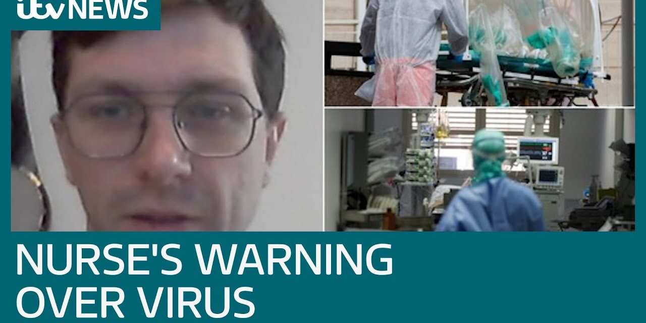British nurse describes how coronavirus patients in Italy treated as 'numbers' | ITV News