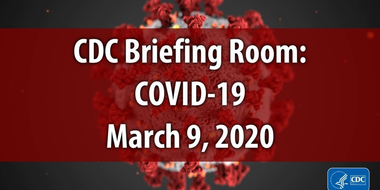 CDC Briefing Room: COVID-19 Update and Risks