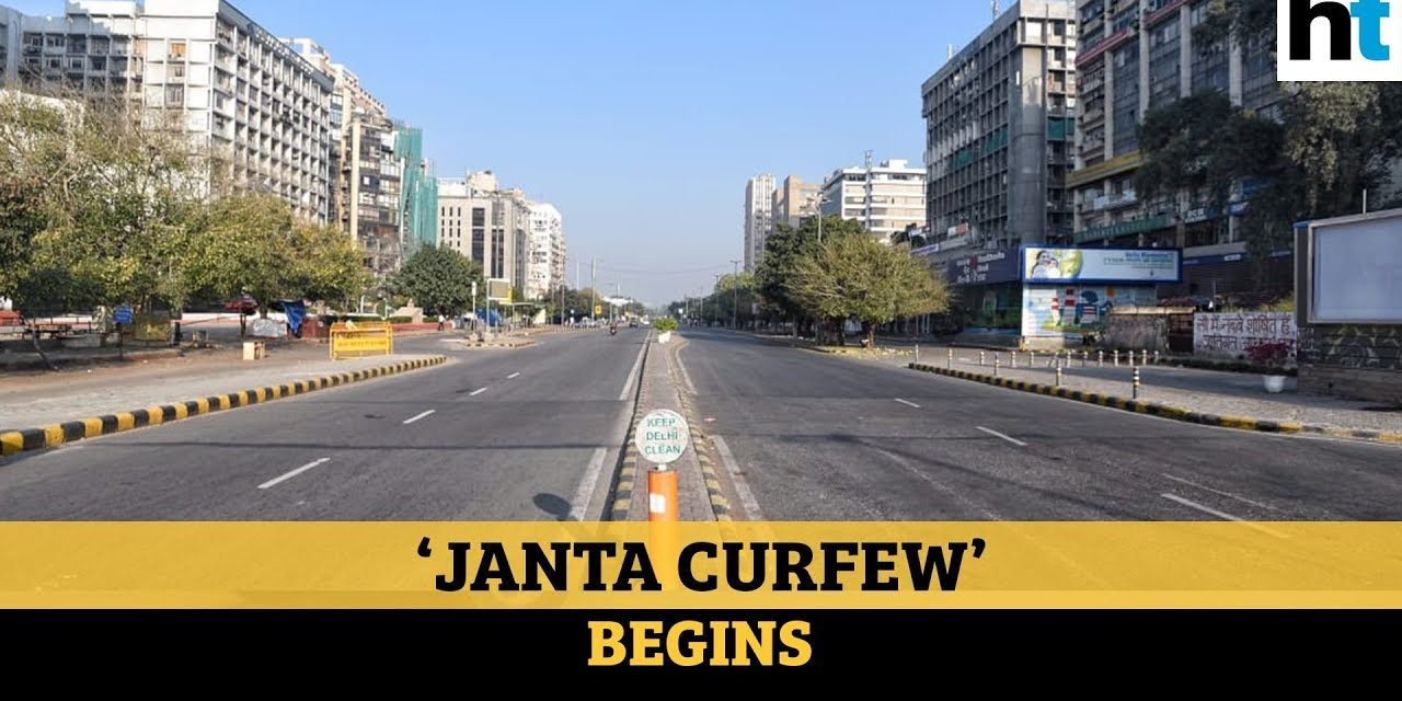 COVID-19: India observes Janta Curfew; streets and roads deserted