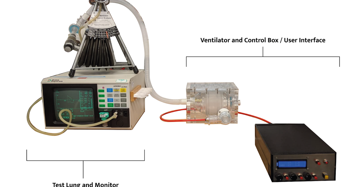 Can the OxVent ventilator help slow the coronavirus death rate?