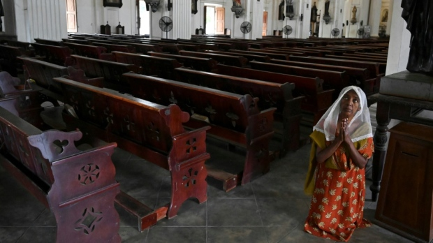 Catholic Church forgives sins of those stricken by virus