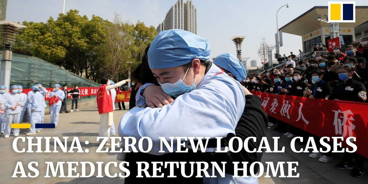 China sees zero domestic Covid-19 cases for third day, but imported coronavirus infections surge