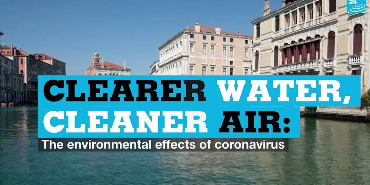 Clearer water, cleaner air: the environmental effects of coronavirus