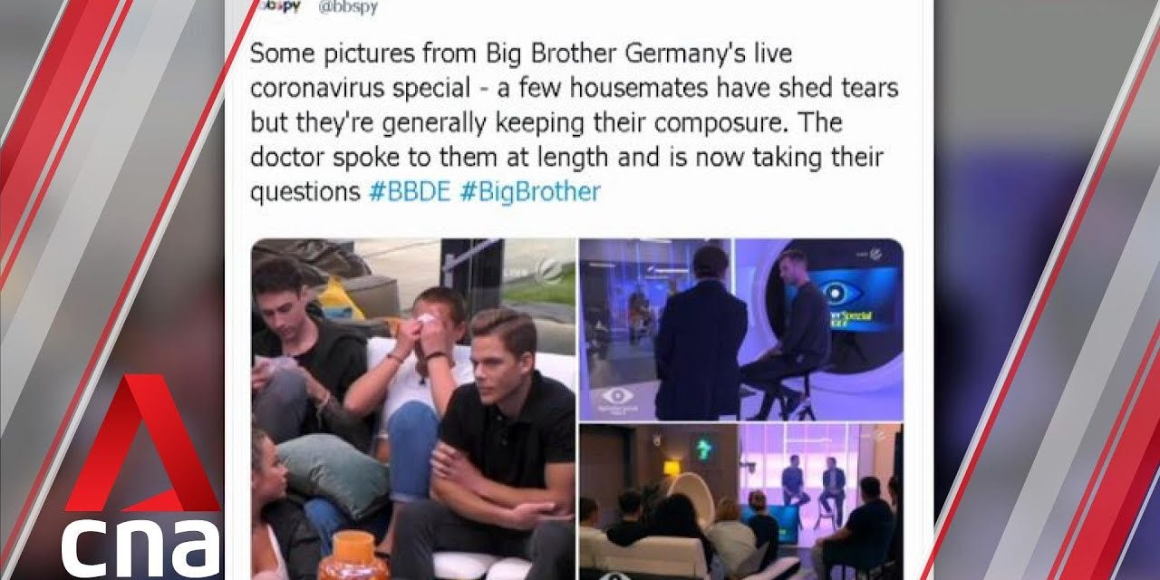 Contestants of German reality TV show 'Big Brother' told about COVID-19 live on TV