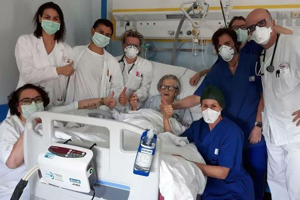 Coronavirus: Italian grandma, 95, becomes oldest person to recover from disease – World News