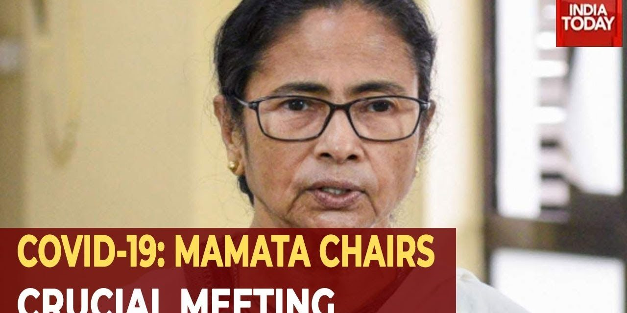 Coronavirus Outbreak: West Bengal CM Mamata Banerjee Chairs Crucial Huddle On COVID-19 Scare