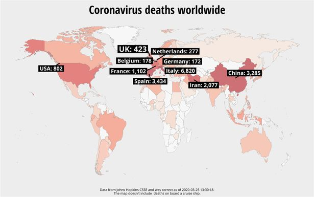 Coronavirus: Spain's death toll overtakes China after 738 die in 24 hours – World News