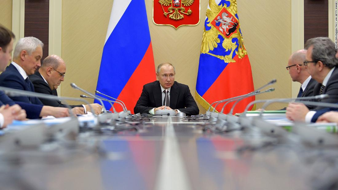 Coronavirus deals blow to Putin's plans to stay in power until 2036