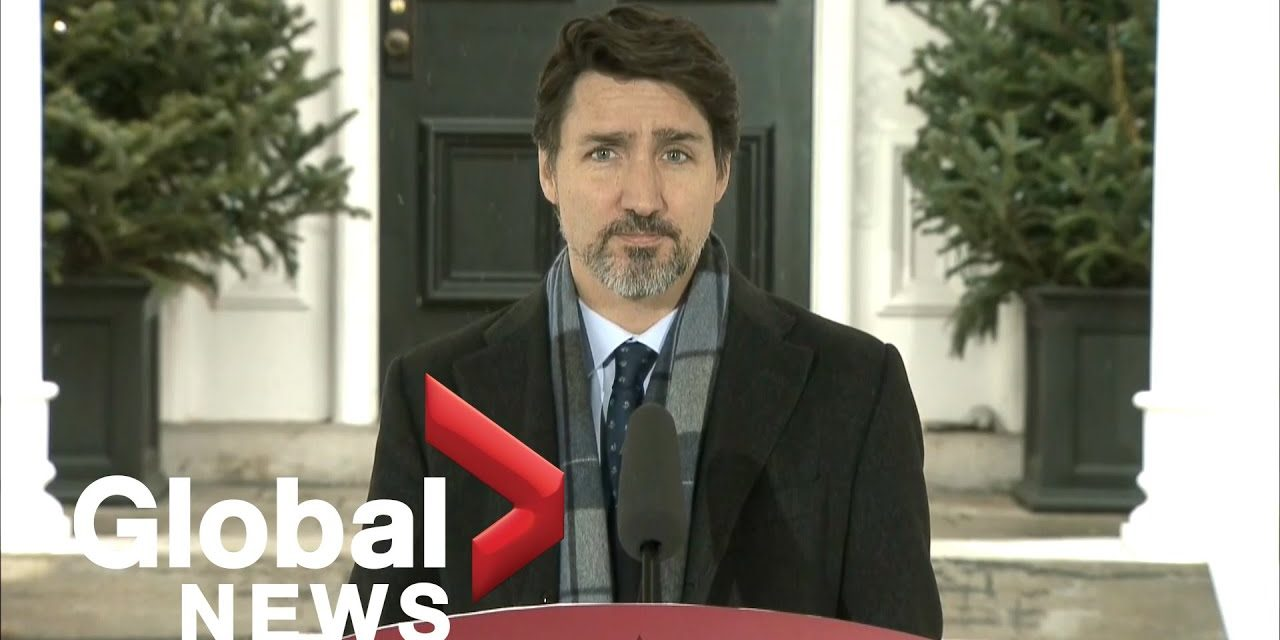 Coronavirus outbreak:  'Enough in enough' Trudeau tells Canadians who are flouting social distancing