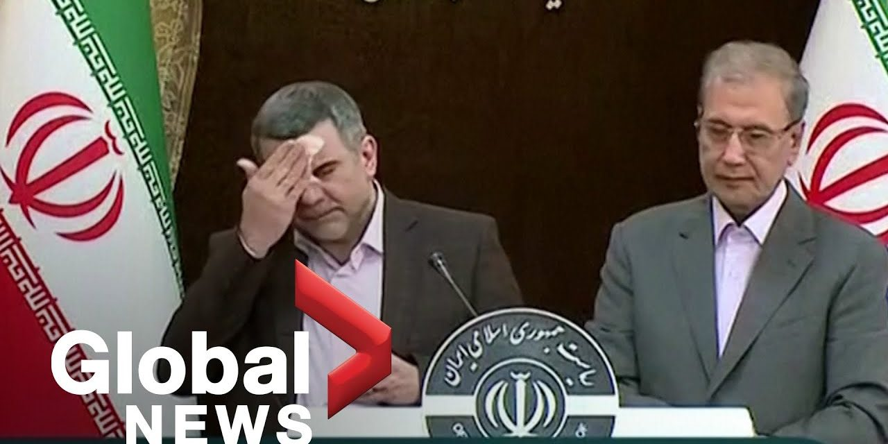 Coronavirus outbreak: Iran health minister appears ill at news conference before COVID-19 diagnosis