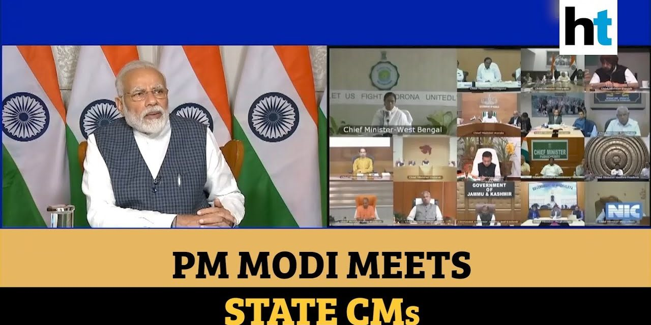 Covid-19: PM Modi holds meeting with state CMs, discusses ways to check spread