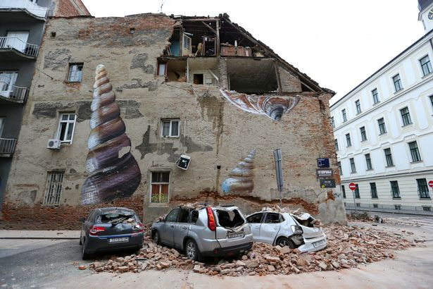 Croatia earthquake: Teen dies after being crushed under building in 5.3 strong quake – World News