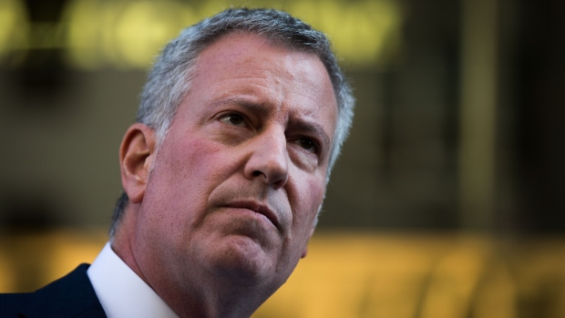 De Blasio says New York City only has enough medical supplies to last through the week