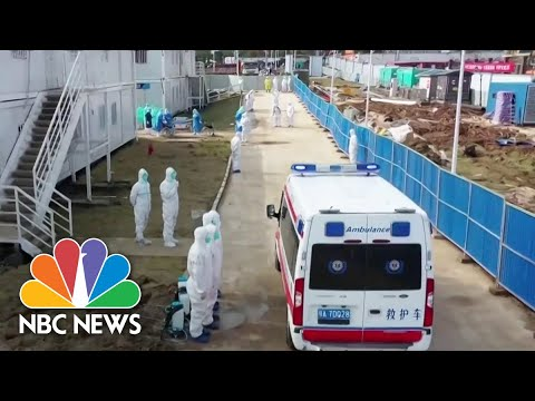 First American Dies From COVID-19 In Wuhan, China   NBC Nightly News