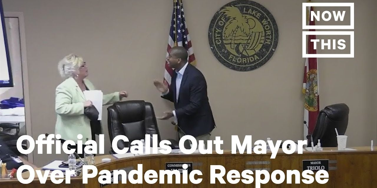 Florida City Official Calls Out Mayor for COVID-19 Response   NowThis