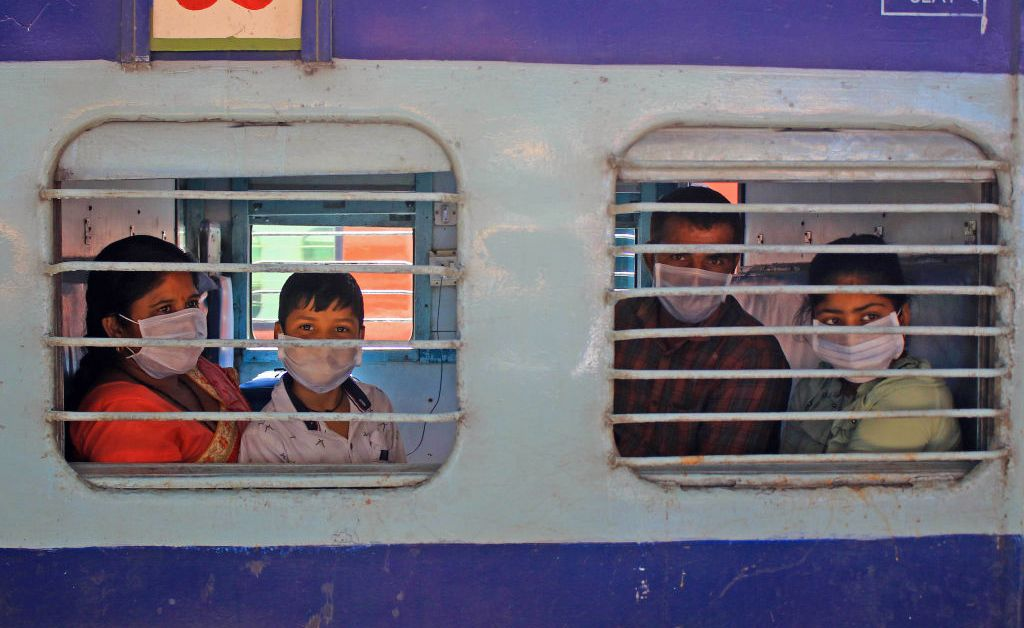 India Halts Trains as COVID-19 Spreads Across Country
