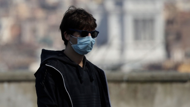 Italy records smaller increase in virus cases for second day