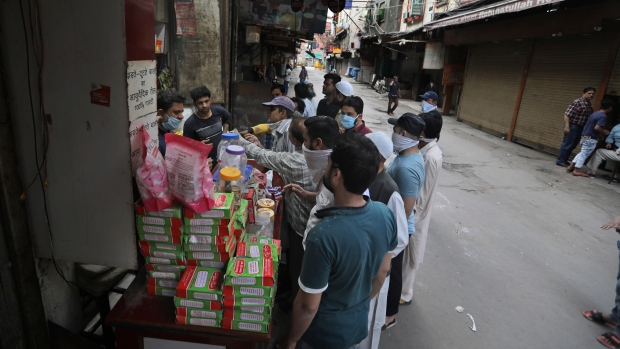 Jobless after virus lockdown, India's poor struggle to eat