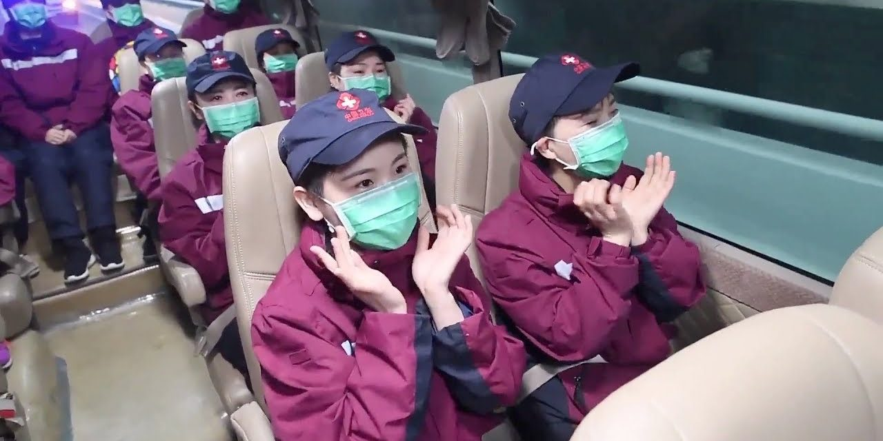 Medics hold back tears as mission COVID-19 concludes in Wuhan