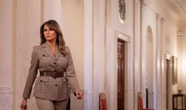 Melania Trump latest: FLOTUS tweets out links to help those self-isolating | World | News