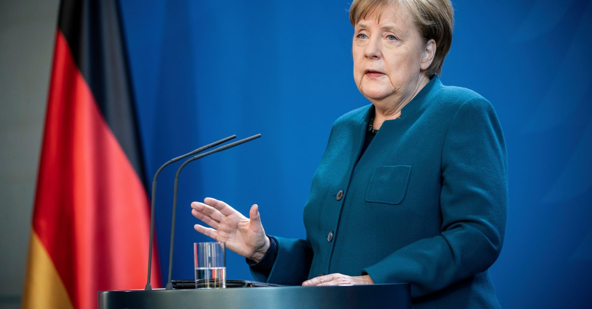 Merkel Quarantined After Doctor Tests Positive for COVID-19