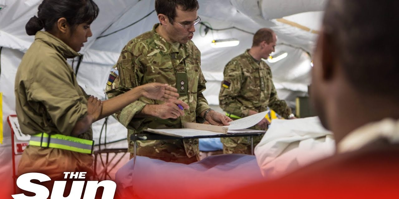 Military plan to build dozens of new NHS Covid-19 field hospitals across UK