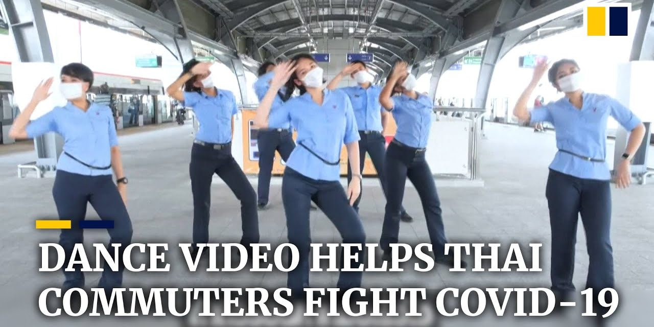 Music video about Covid-19 safety released by rail operator in Thai capital Bangkok