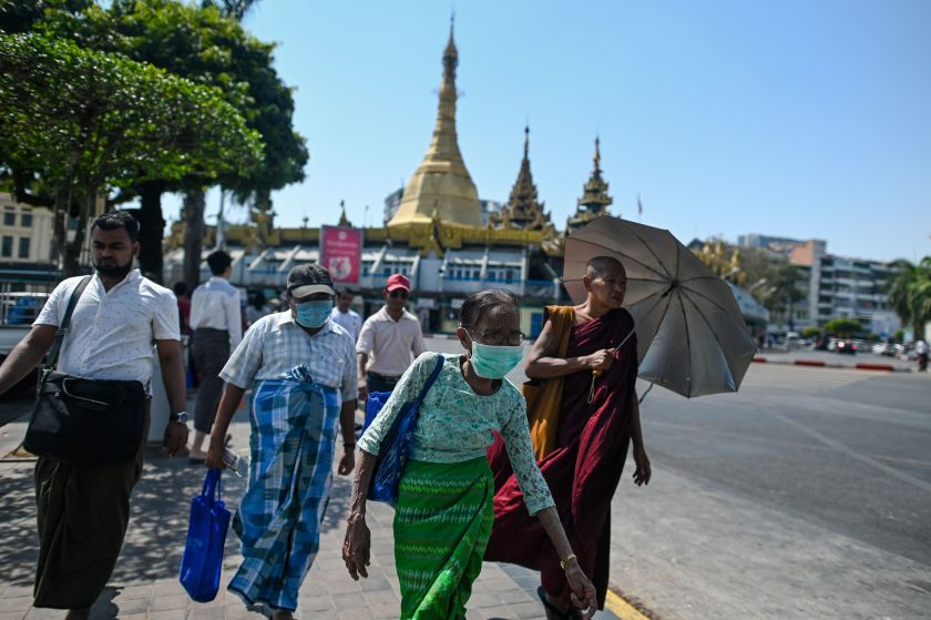 Myanmar claimed to be coronavirus-free. Now cases are showing up